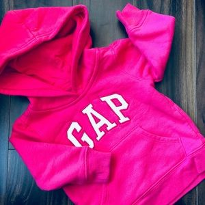 Baby Gap Baby Girl's Pink Sweatshirt w/Hood
